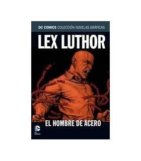 Colección Novelas Gráficas DC 22: Lex Luthor: El Hombre De Acero