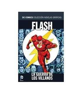 Colección Novelas Gráficas DC 43: Flash: La Guerra De Los Villanos