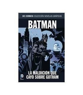 Colección Novelas Gráficas DC 50: Batman: La Maldición Que Cayó Sobre Gotham