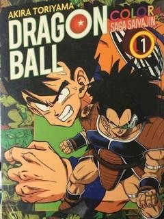 Dragon Ball Color: Saga Saiyajin 01