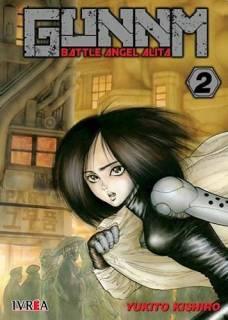 Gunnm (Battle Angel Alita) 02 (Ivrea Argentina)