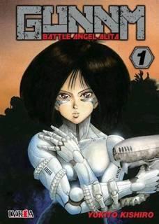 Gunnm (Battle Angel Alita) 01 (Ivrea Argentina)