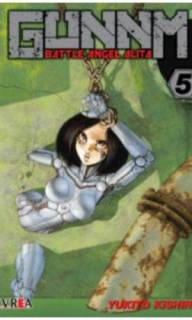 Gunnm (Battle Angel Alita) 05 (Ivrea Argentina)