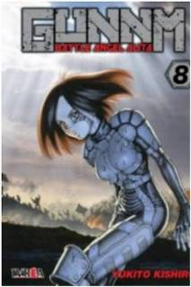 Gunnm (Battle Angel Alita) 08 (Ivrea Argentina)