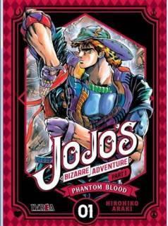 Jojo's Bizarre Adventure Parte I: Phantom Blood 01 (Ivrea Argentina)