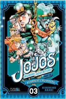 Jojo's Bizarre Adventure Parte III: Stardust Crusaders 03 (Ivrea Argentina)