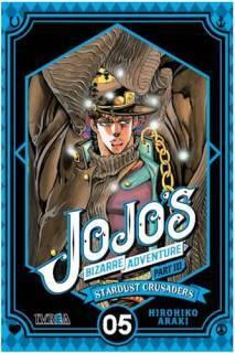 Jojo's Bizarre Adventure Parte III: Stardust Crusaders 05 (Ivrea Argentina)