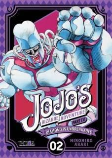Jojo's Bizarre Adventure Parte IV: Diamond Is Unbreakable 02 (Ivrea Argentina)