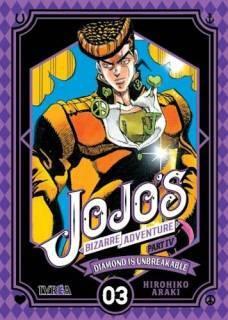 Jojo's Bizarre Adventure Parte IV: Diamond Is Unbreakable 03 (Ivrea Argentina)