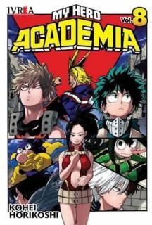 My Hero Academia 08 (Ivrea Argentina)