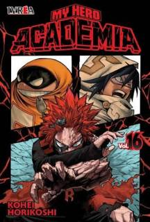 My Hero Academia 16 (Ivrea Argentina)