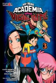 My Hero Academia Vigilante Illegals 03 (Ivrea Argentina)