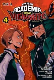 My Hero Academia Vigilante Illegals 04 (Ivrea Argentina)