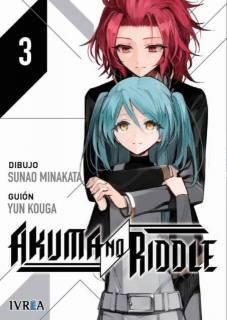 Akuma No Riddle 03 Novedad 2016 (Serie De 5 Tomos)