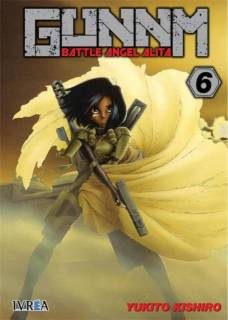 Gunnm (Battle Angel Alita) 06 (Ivrea España)