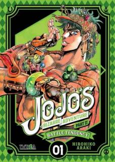 Jojo's Bizarre Adventure Parte II: Battle Tendency 01 (Ivrea España)
