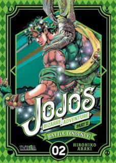 Jojo's Bizarre Adventure Parte II: Battle Tendency 02 (Ivrea España)