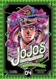 Jojo's Bizarre Adventure Parte II: Battle Tendency 04 (Ivrea España)