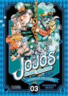 Jojo's Bizarre Adventure Parte III: Stardust Crusaders 03 (Ivrea España)