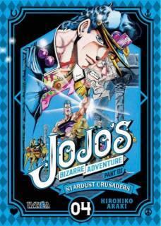 Jojo's Bizarre Adventure Parte III: Stardust Crusaders 04 (Ivrea España)