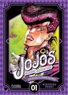 Jojo's Bizarre Adventure Parte IV: Diamond Is Unbreakable 01 (Ivrea España)