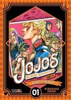 Jojo's Bizarre Adventure Parte V: Vento Aureo 01