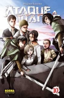 Ataque A Los Titanes (Shingeki no Kyojin) 10