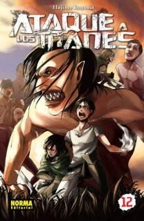 Ataque A Los Titanes (Shingeki no Kyojin) 12