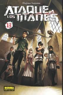 Ataque A Los Titanes (Shingeki no Kyojin) 13