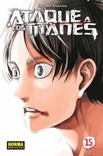 Ataque A Los Titanes (Shingeki no Kyojin) 15