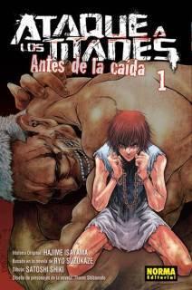 Ataque A Los Titanes (Shingeki no Kyojin) Antes De La Caída 01