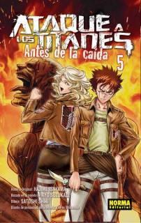 Ataque A Los Titanes (Shingeki no Kyojin) Antes De La Caída 05