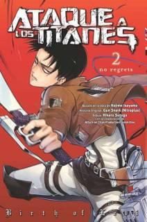 Ataque A Los Titanes (Shingeki no Kyojin) No Regrets 02