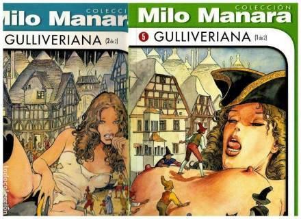 El Perfume del Invisible (Milo Manara) Pack