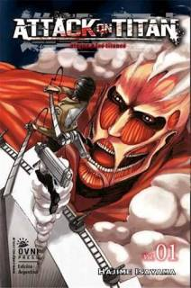 Attack On Titan (Shingeki no Kyojin) 01