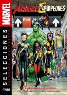 Avengers Campeones Cambiando Al Mundo Vol 2