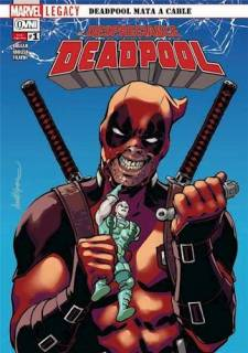 Deadpool Mata A Cable