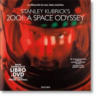 Stanley Kubrick's 2001: Una Odisea Del Espacio (Libro y Dvd)