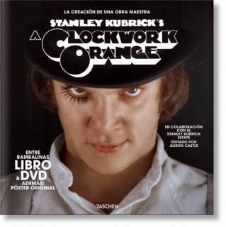 Stanley Kubrick's The clockwork orange (Libro y Dvd)