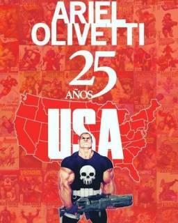 Ariel Olivetti 25 Años Usa
