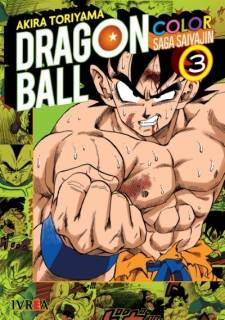 Dragon Ball 3 Color Saga Saiyajin 03
