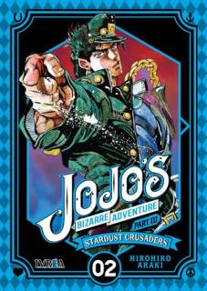 Jojo's Bizarre Adventure Parte III: Stardust Crusaders 02 (Ivrea España)