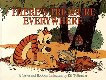 A Calvin and Hobbes Collection: There's treasures everywhere