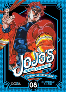 Jojo's Bizarre Adventure Parte III: Stardust Crusaders 08 (Ivrea Argentina)