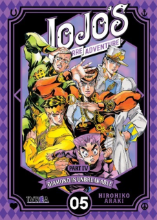 Jojo´s Bizarre Adventure Parte IV: Diamond is Unbreakable 05  (Ivrea Argentina)
