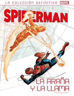 Spiderman: La Araña y la Llama. Colección definitiva 24 (43)