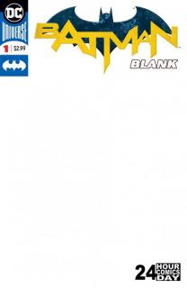 Batman Blank Comic 1