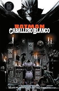 Batman Caballero Blanco Edición Blanco y Negro
