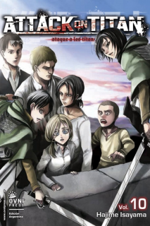 Attack On Titan (Shingeki no Kyojin) 10