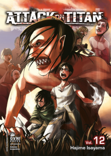Attack On Titan (Shingeki no Kyojin) 12